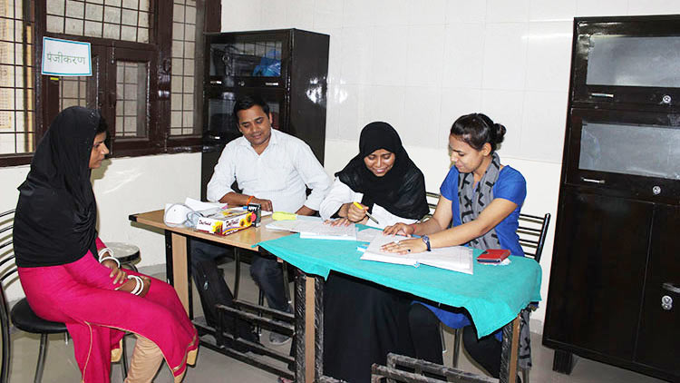 Health check-up camp held at Jamia Hamdard in coordination with HealthCubed